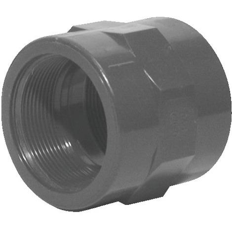 Manchon fer PVC pression F à visser F à coller 50x60 63