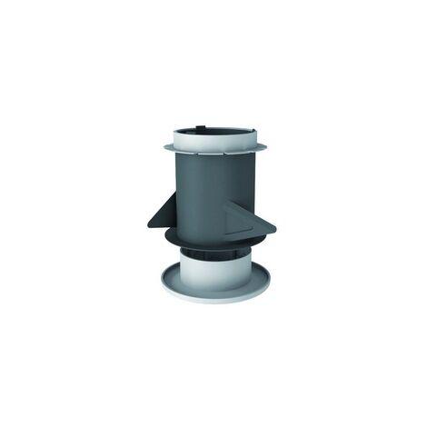 Manchon MP125 pour bouches VMC - Noir