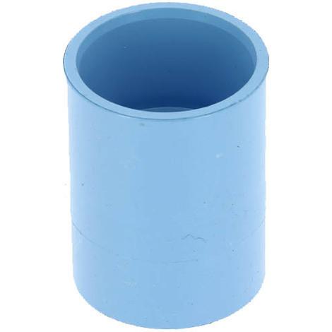 Manchon PVC bleu air comprimé femelle-femelle O32