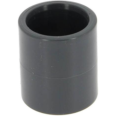 Manchon PVC pression femelle-femelle Ø32