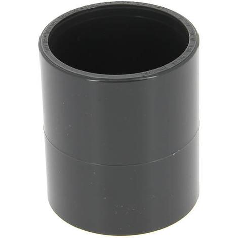 Manchon PVC pression femelle-femelle O50