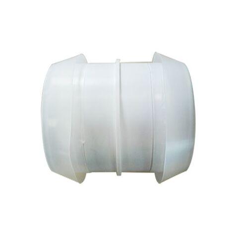 Manchon raccord mâle plastique - Diamètre 80 mm - Unelvent