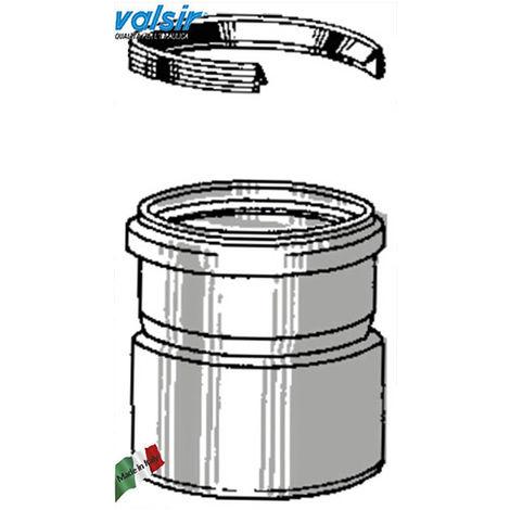 manchon VALSIR échappement gris RIDUZ.DAL PVC-PP 100/110