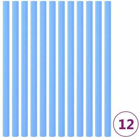 Manchons en mousse pour poteau de trampoline 12 pcs 92,5cm Bleu