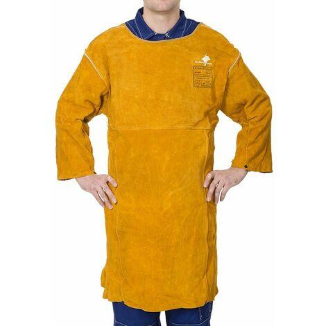 Mandil Golden Brown  tipo hombro, largo 92 cm