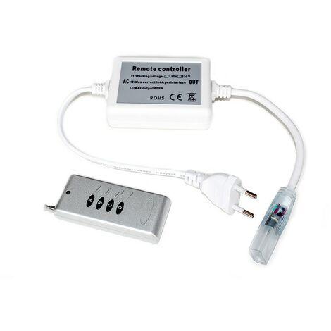 Mando a distancia de radio para cinta de leds RGB 220V