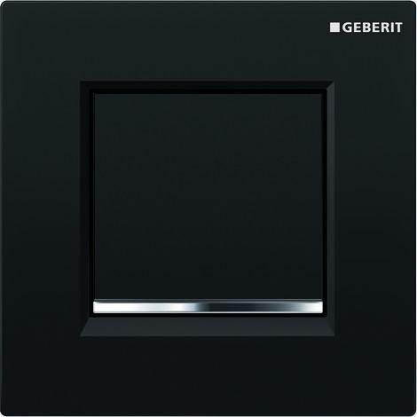 Mando para urinario Geberit con desagüe neumático, placa de accionamiento tipo 30, color: blanco / cromado brillante - 116.017.KJ.1