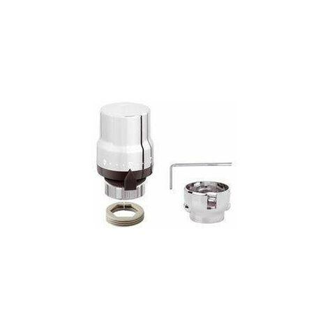Mando termostático para válvulas termostatizables caleffi 200015 | cromo
