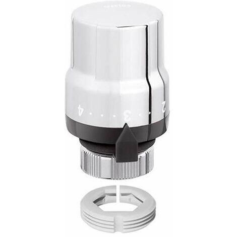 Mando termostático para válvulas termostatizables HIGH STYLE Caleffi 200013   Cromo