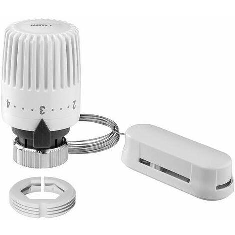 Mando termostático, sensor incorporado Caleffi 199100 | Blanco