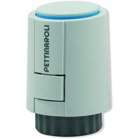 Mando termostático sensor incorporado Pettinaroli A544O2 | Blanco