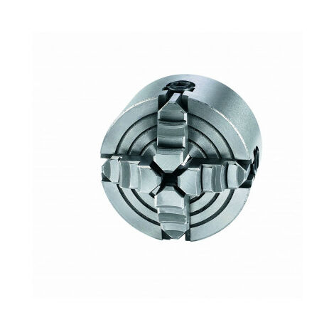 Mandril de torno metal con 4 mordazas 80mm Einhell