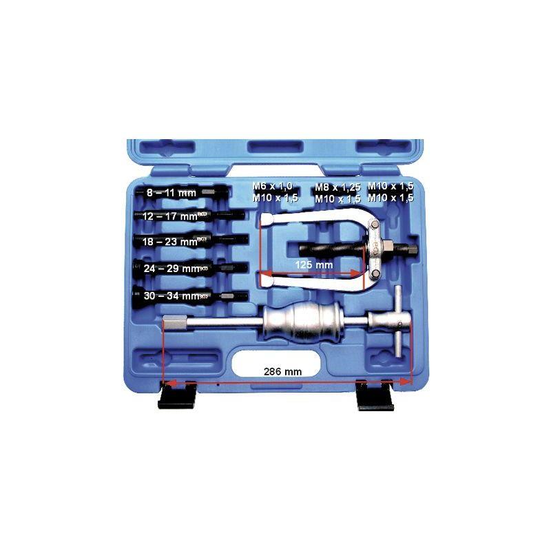 Mandrin 12 x 17 mm pour coffret BGS 7710 / Kraftmann 97710