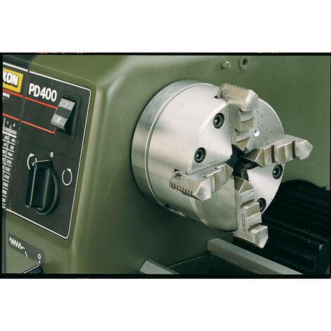 Mandrin 4 mors à serrage concentrique pour PD 400 Ø 100 mm Proxxon