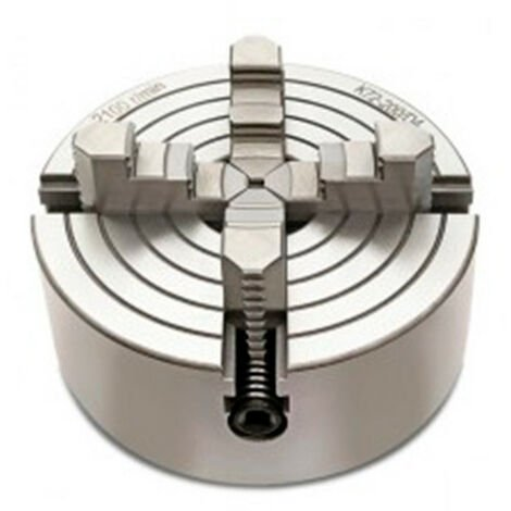 Mandrin 4 mors indépendants D. 125 mm pour tour à métaux - -