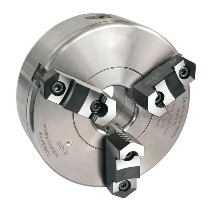 Lot de 3 mandrins /à trois mors de pr/écision 80-125 mm pour manche rotatif 100 mm
