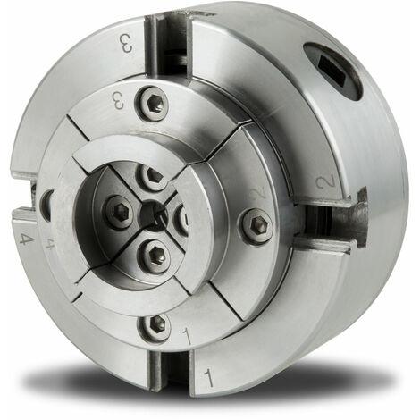 Mandrin à quatre mors de précision de 100 mm à centrage automatique Mandrin de tour