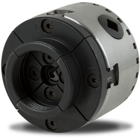 Mandrin à quatre mors de précision de 80 mm à centrage automatique Mandrin de tour