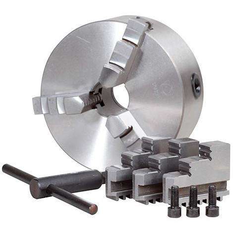 Mandrin D. 125 mm 3 mors pour tours métaux TP 550 - 21398119 - Sidamo