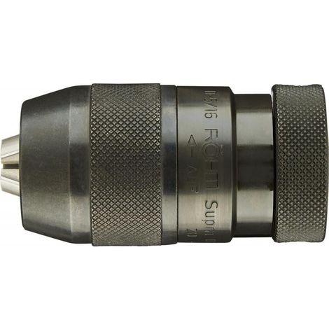 Mandrin de perceuse à serrage rapide Supra Ø de serrage 3-16 mm B18 pour rotation à droite