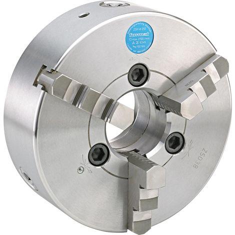 Mandrin de tour à 3 mors DIN55027 acier 200mm cône court 5 FORMAT 1 PCS