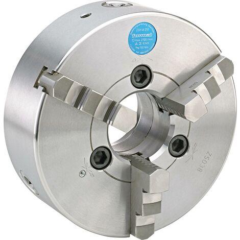 Mandrin de tour à 3 mors DIN55027 acier 250mm cône court 6 FORMAT 1 PCS