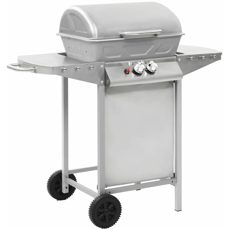 Image of Manervia Portable Gas Barbecue by Silver - Dakota Fields