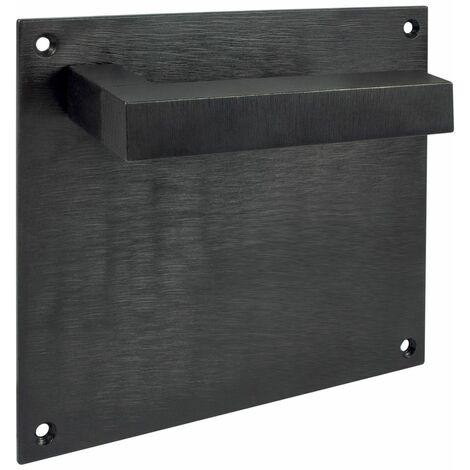 Maneta Con Placa 150X170 Modelo Irontech Negro Indust rial - Negro Industrial