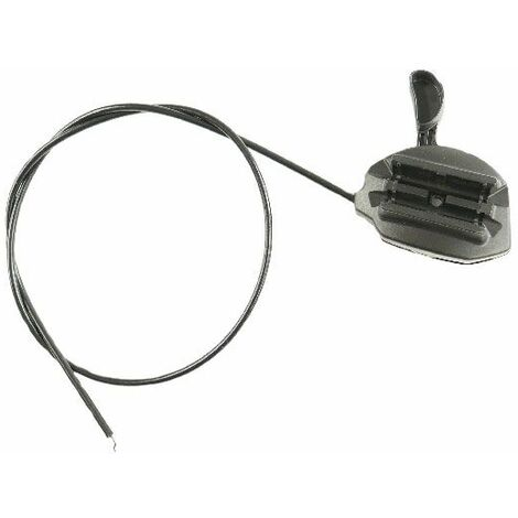Manette accélérateur et cable tondeuse GGP
