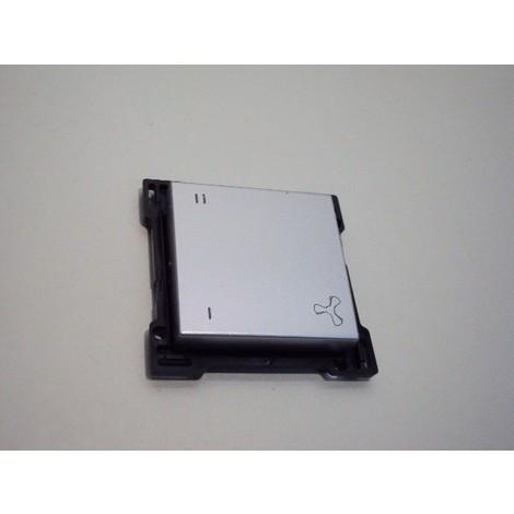 Manette touche simple sterling pour interrupteur d'une commande VMC NIKO 121-61106
