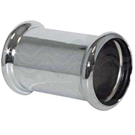 Manga de OMP en latón cromado con dos juntas tóricas de diámetro 32 102.160.5