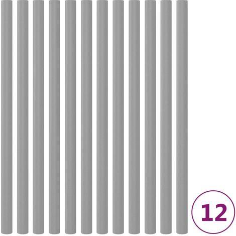 """main image of """"Mangas de espuma de postes de cama elástica 12 uds 92,5 cm gris"""""""