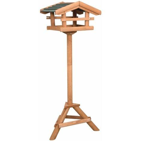 Mangeoire à oiseaux avec support Bois de sapin