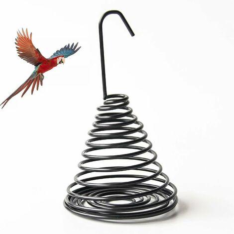 Mangeoire à oiseaux, mangeoire à oiseaux en métal, traitement antirouille par électrophorèse de surface, alimentation simple