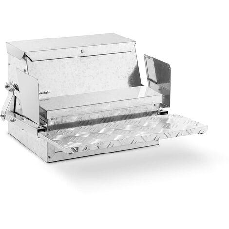 Mangeoire Automatique Pour Volaille Poule Canard Oie 11,5 kg En Acier Galvanisé