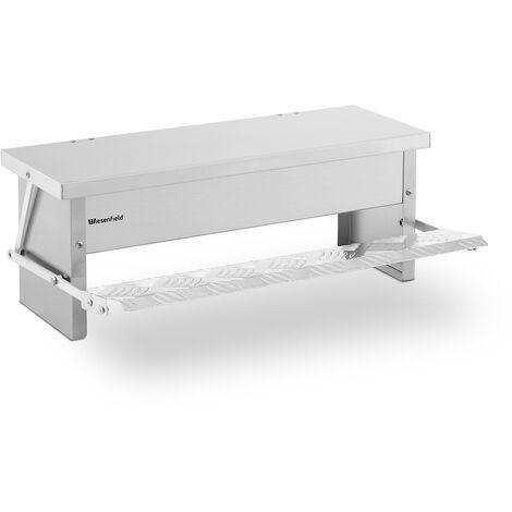 Mangeoire Automatique Pour Volaille Poule Canart Oie Capacité De 4 kg Aluminium