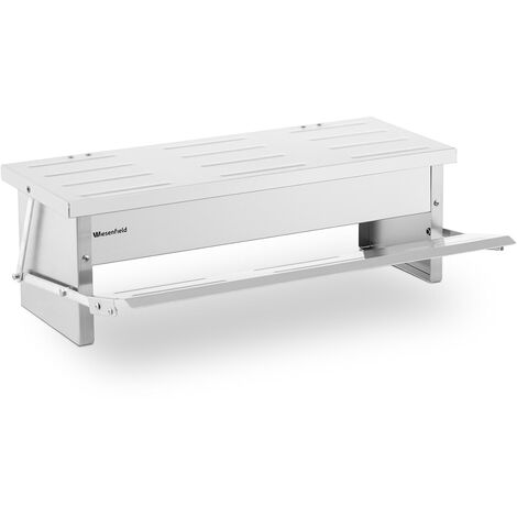 Mangeoire Automatique Pour Volaille Poule Oie 5 kg Marchepied Aluminium Embouti