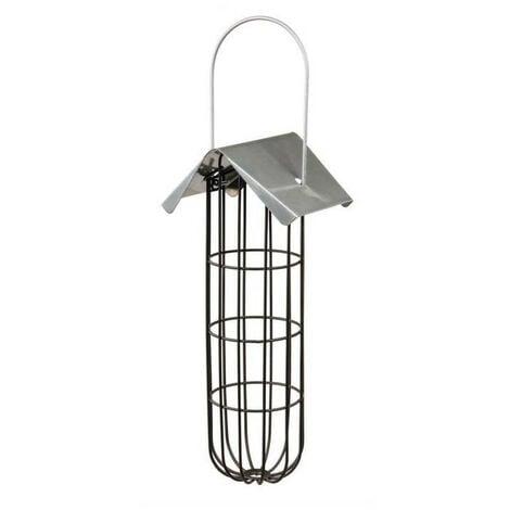 """main image of """"Mangeoire boule de graisse pour oiseaux 11 × 33 × 10 cm noir"""""""