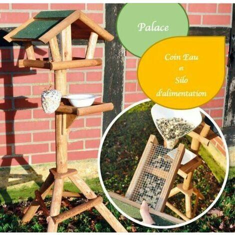 Mangeoire oiseaux exterieur pour oiseaux sauvage. Montage simple .modele Palace-313