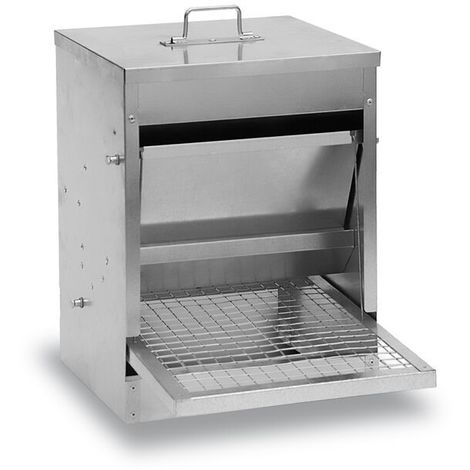 Mangeoire Poule Anti-Nuisible 40Kg