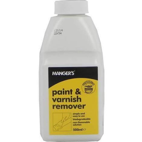 Mangers Paint & Varnish Remover 500ml