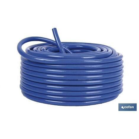 "main image of ""Manguera compresor azul reforzada PVC 50 metros 09000961"""