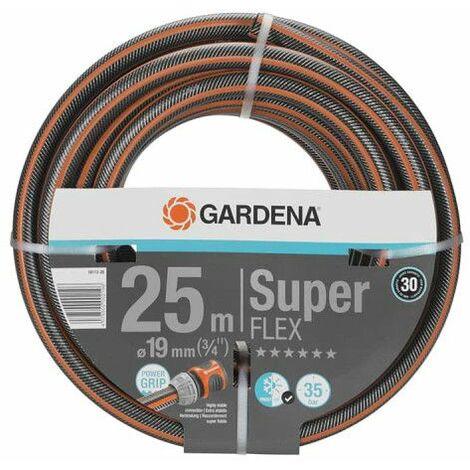 Manguera de jardín GARDENA - Premium SuperFLEX - Diámetro 19 mm - 25 m - 18113-20