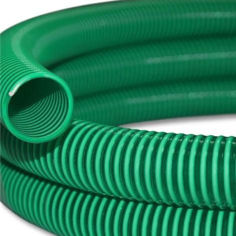 """Manguera de succión y presión 5m refuerzo espiral 32mm diametro (1 1/4"""") - fabricado en Europa"""