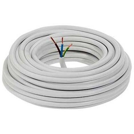 Manguera Electrica 3x1,5mm Cable Alimentacion Electrico Corte Por Metros