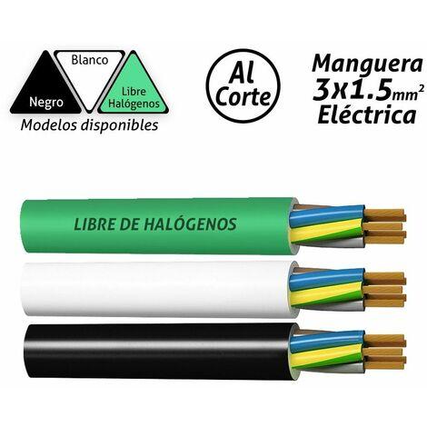 Manguera eléctrica 3x1.5mm2 -Disponible en varias versiones