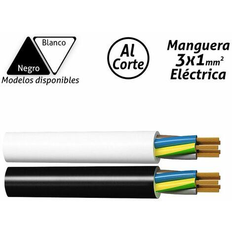 Manguera eléctrica 3x1mm2 -Disponible en varias versiones