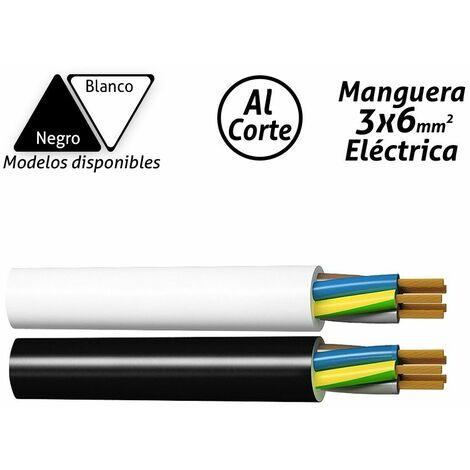 Manguera eléctrica 3x6mm2 -Disponible en varias versiones