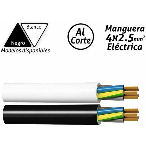 Manguera eléctrica 4x2.5mm2 -Disponible en varias versiones