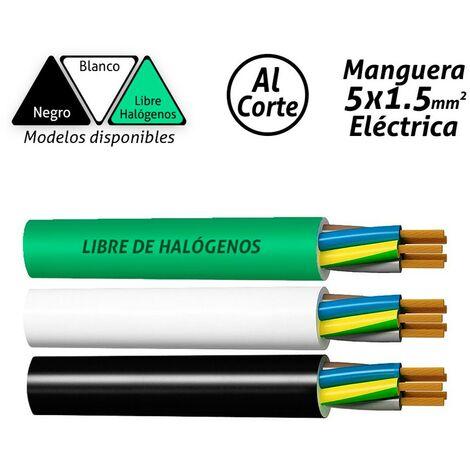 Manguera eléctrica 5x1.5mm2 -Disponible en varias versiones